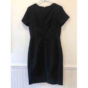 Banana Republic Dresses - Banana Republic   Black Swiss Dot Midi Dress